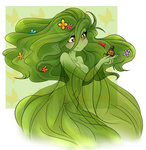 #7 Plant Girl by Miss-Vani