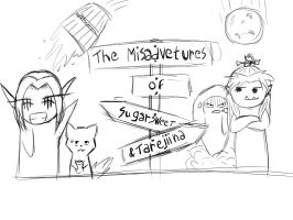 the misaventures of S and T banner by lil-annie
