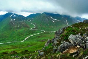 Hatcher's Pass by Man-Upstairs