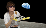 Kors K on the Moon by QuarkFace