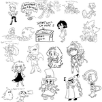 Combined Stream Night 10/16/14 by mandy-kun