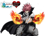 Natsu dragneel 1 year later render by DrixWor