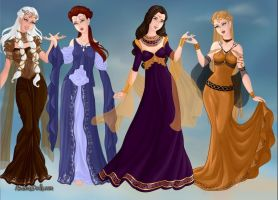 Queens Of Westeros by Dragonryder94