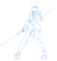 Jedi Consular sketch by Pavagat