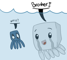 Brother squid by TheSilverPie