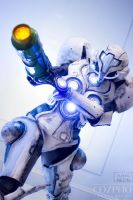 Metroid Prime 2 light suit by Its-Raining-Neon