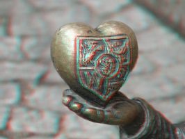 Golden Heart 3-D conversion by MVRamsey