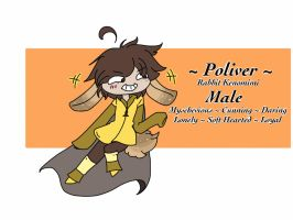 Personal Reference Sheet: Poliver by MacMacaroni