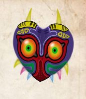 Majora's Mask by Currykat