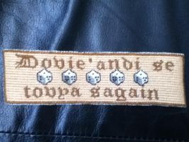 Wheel of Time Bookmark by Stitches-and-Beer