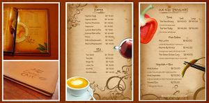 menu by Redey