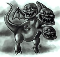 Triple Troll by Alicemonstrinho