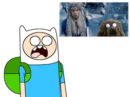 Finn's reaction to Live-Action version of AT by MarcosLucky96