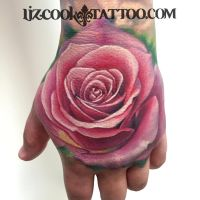 Tyler's Hand by LizCookTattoo