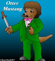 Otter Mustang: Detective by ChessYoshi