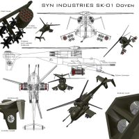 SK helicopter by ToastSYN
