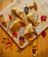 Fall Aroma - Pumpkin Scones by waudrey