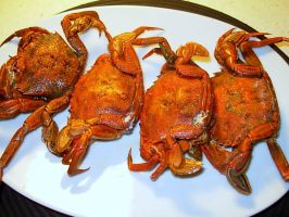 Galician crabs by Anaosa