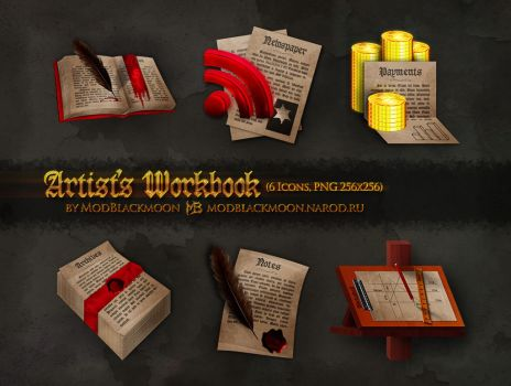 MB-Artist's Workbook by modblackmoon