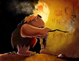 First Birthday Card Ever by clelanjh