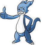 Vee-Boy, the Vault-Tec Veemon by RandomMadnessityfier