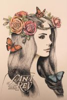 Lana Del Rey by LittleBird16