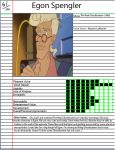 Awesome Character: Egon Spengler by Toongirl18