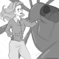 Asami and Aviation by olivarchy