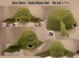 Yoda Fleece Hat by LiliNeko