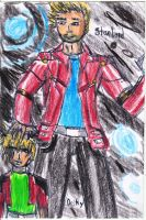 Deiky and his Dad Starlord for Rise-Of-Majora by SnowWolf10