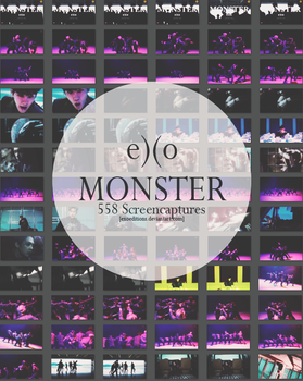 EXO - MONSTER MV Screencaptures by EXOEDITIONS