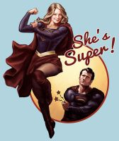 She's Super! by hugohugo