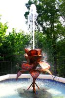 ABSTRACT FOUNTAIN by magicandbrother