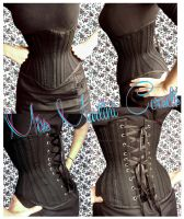 Underbust Tight Lacing/Waist Training COrset by MissMartiniCorsets