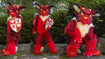 Sir Racha Fursuit up for Sale by LobitaWorks