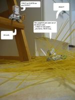 Paper-eating spaghetti-monster by duumi