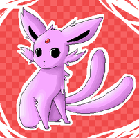 Espeon by Endless-Void
