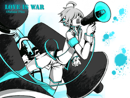 Utatane Piko - Love Is War by Mad-Hatter----X