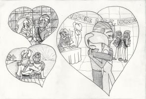 Yogscast Valentine .:SKETCH:. by miles-prower-power