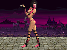 Mileena Render by Jfr12391
