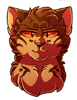 Brambleclaw by Klaracrystalpaws