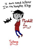 Marshall Lee School Binder Cover by MelloChello195