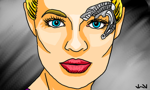 Seven of Nine by Chrisily