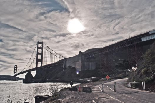 GG Bridge via Horshoe Bay by Friitzie