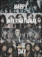 Happy International Black Veil Brides Day! by MisserBK