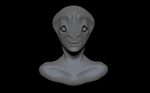 A Happy Alien - WIP (Critiques wanted!) by Maxxie-Delu