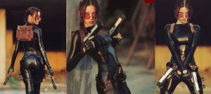Lara Croft cosplay - catsuit improvisation 3 by TanyaCroft
