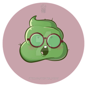 Green Turd by NerdTurd-Design