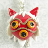 Princess Mononoke inspired San's Mask by TrenoNights