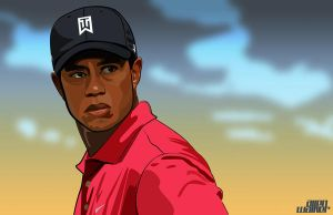 Tiger Woods by 5MILLI